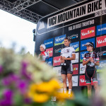 Lisa Rabensteiner sul podio di World Cup a Val di Sole - Ph: Michele Mondini